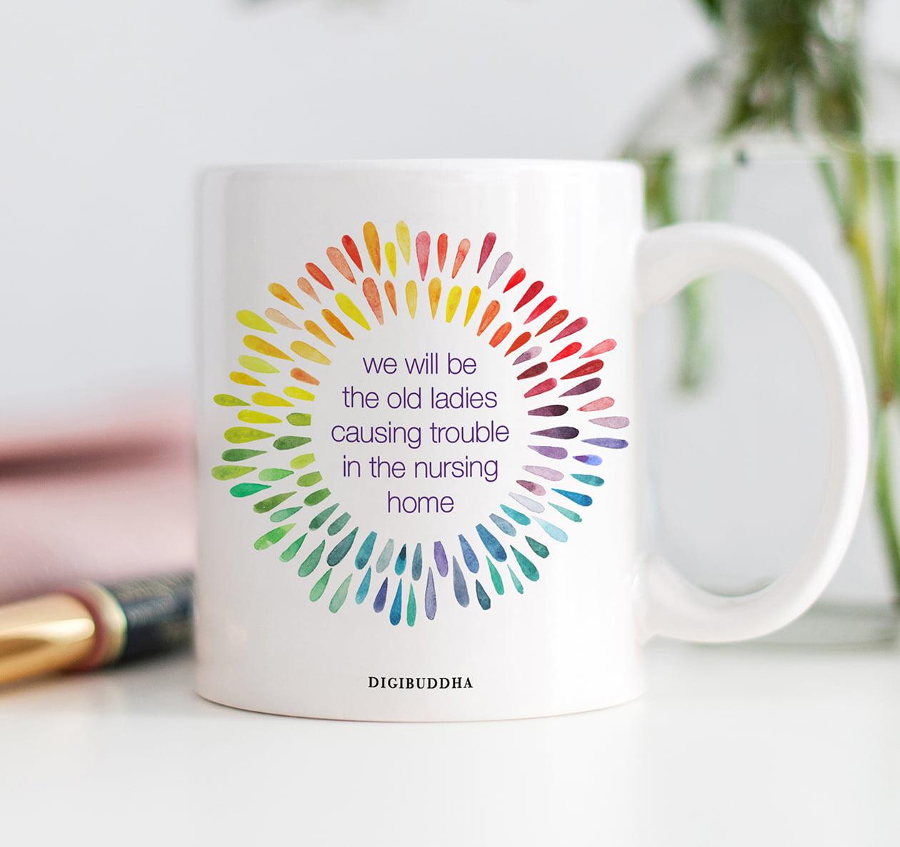 Coffee is a nurses bestie Mug