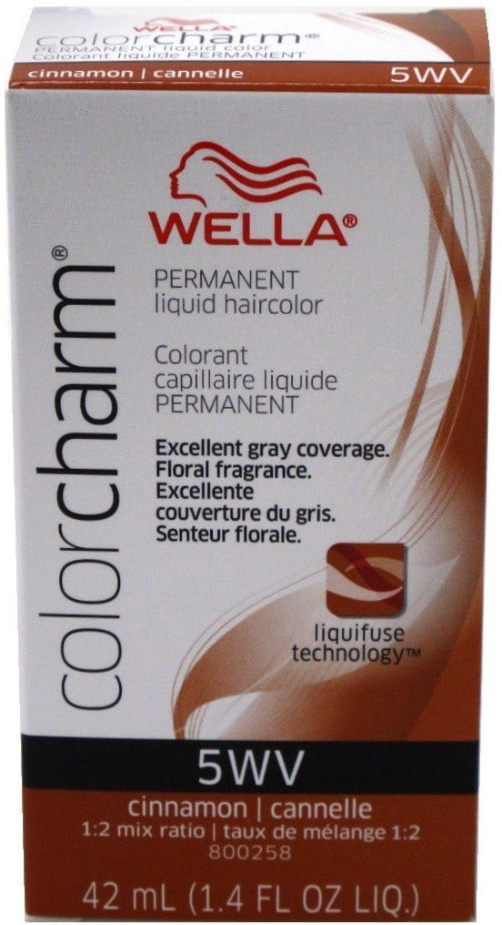 Wella Cinnamon Color Charm Liquid Permanent Hair Color Walmart