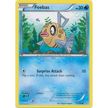 Pokemon Flashfire Feebas #22