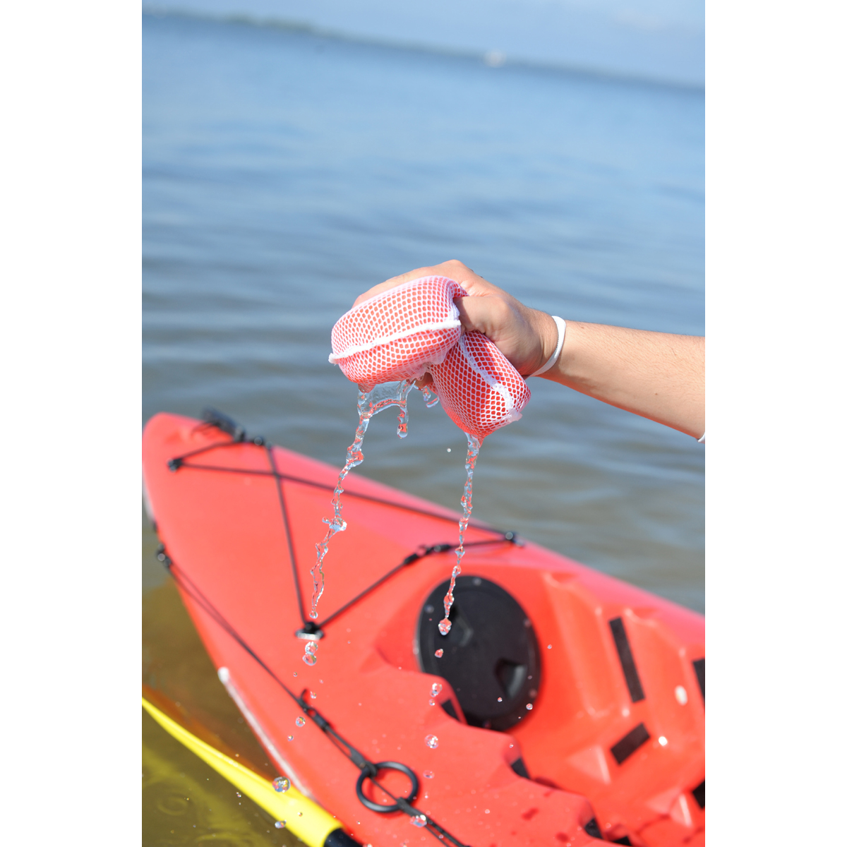 Propel Paddle Gear Kayak Sponge with Elastic Lanyard