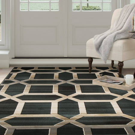 Somerset Home Opus Art Deco Area Rug Walmart Com