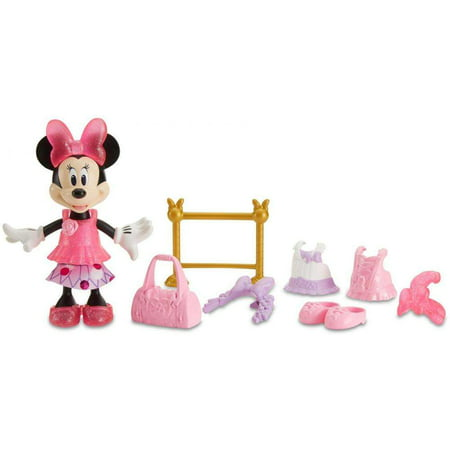 Disney Minnie Mouse Ballerina Minnie Doll - Cheerleader Minnie Mouse Doll