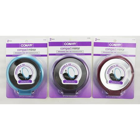 Conair 41663 Standard & 10x Magnification Compact Mirror