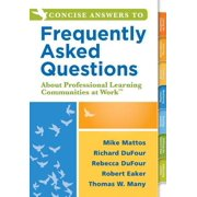Concise Answers to Frequently Asked Questions About Professional Learning Communities at WorkTM - eBook