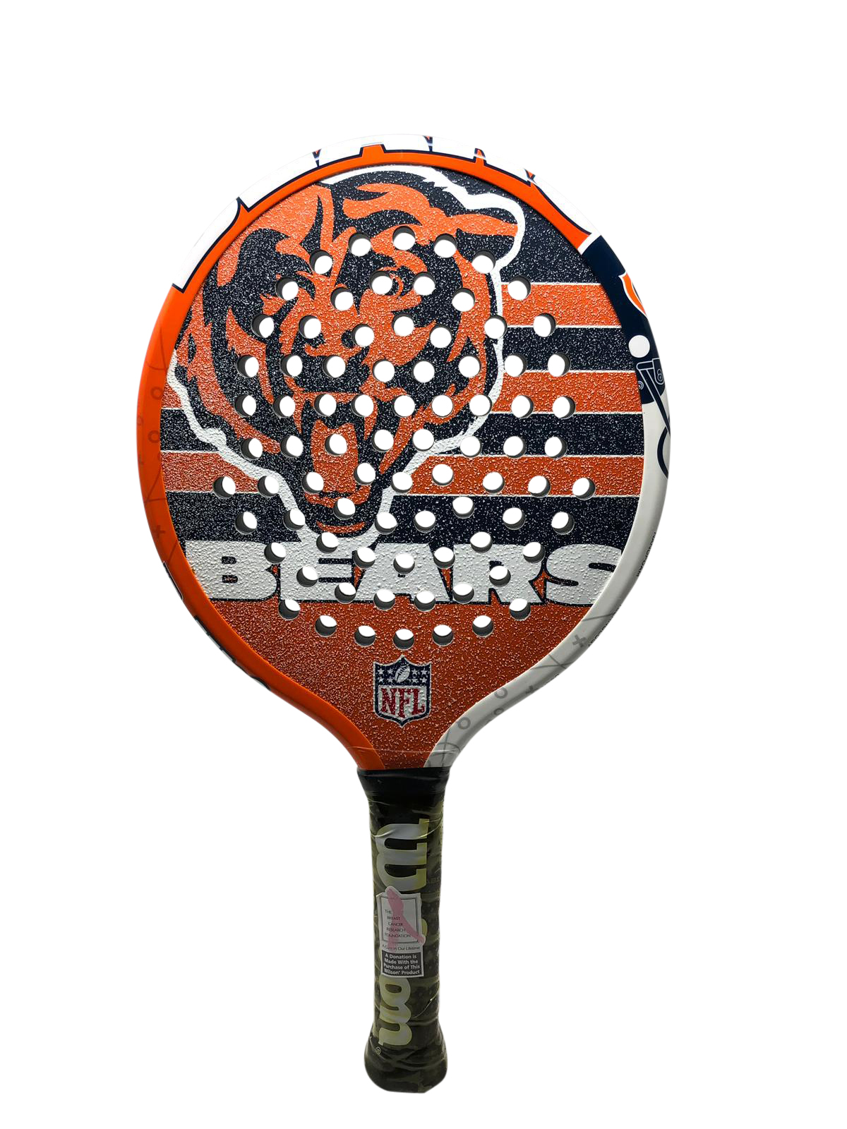 Wilson Limited Edition Nfl Platform Tennis Paddles Bears Walmart Com Walmart Com