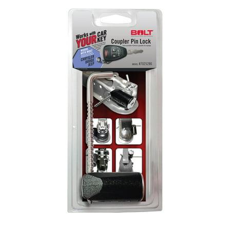 BOLT Lock 7025286 Coupler Pin Lock; Trailer Hitch Pin Lock Coupler Locking Pin