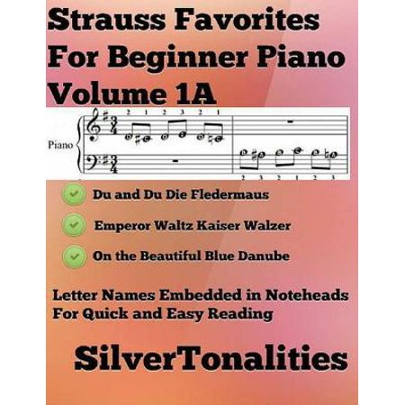 Strauss Favorites for Beginner Piano Volume 1 A - eBook