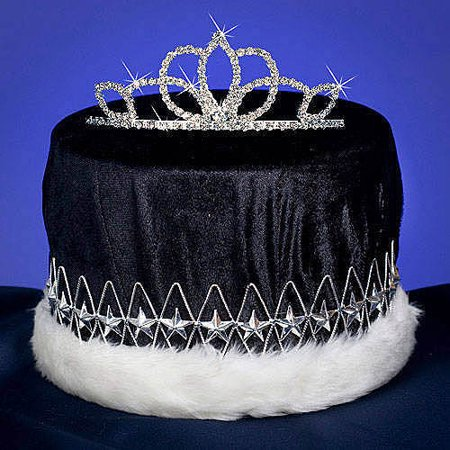 Royalty Combo Tiara and Crown Set - Black Swan Tiara Halloween