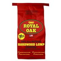 Deals on Royal Oak Lump Charcoal All Natural Hardwood Charcoal 30Lbs