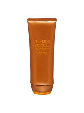 Shiseido Brilliant Bronze Self-Tanning Emulsion for Face & Body, 3.5 Oz