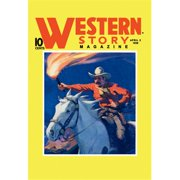 Buy Enlarge 0-587-10643-3P12x18 Western Story Magazine- Under Fire- Paper Size P12x18