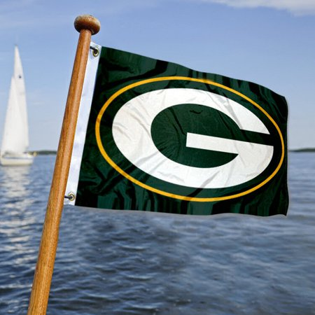 - Green Bay Packers Boat and Nautical Yacht Pennant Flag