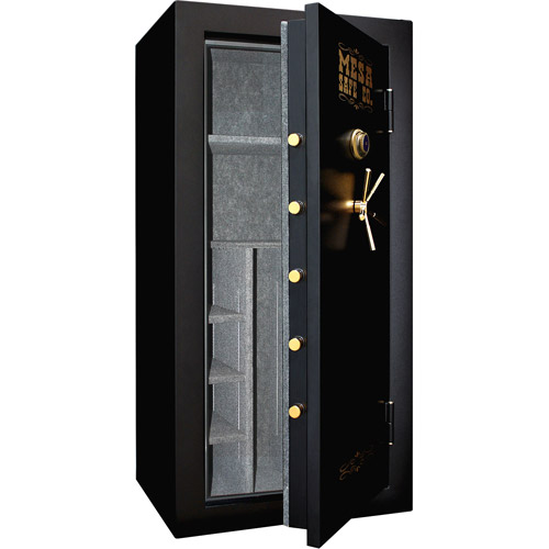 Mesa Safe 40-Gun MBF7236C Fire Resistant Safe with Mechanical Dial Lock, Black