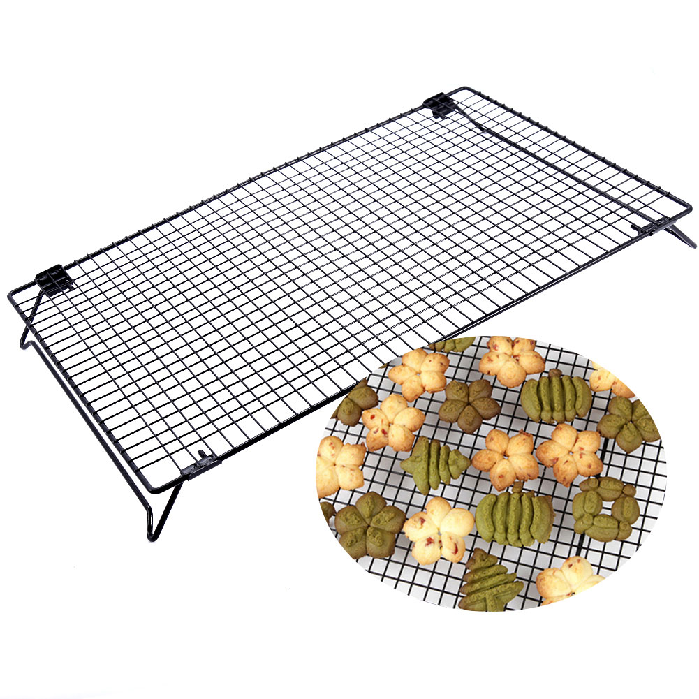 Non-stick Cookie cooling rack Cooling Grid, 42*27*5 cm by