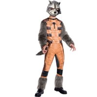 MARVEL'S GUARDIANS OF THE GALAXY DELUXE ROCKET RACCOON BOYS COSTUME-4-6