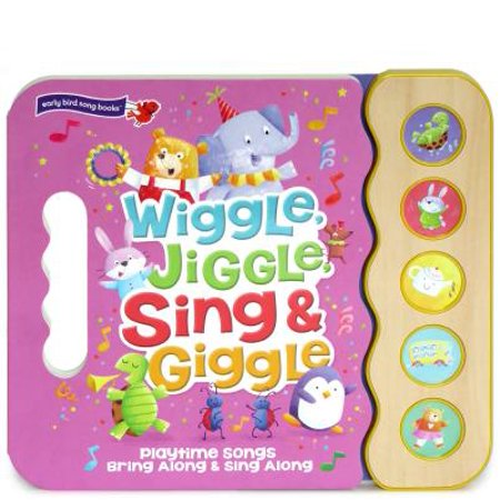 The Wiggles Halloween Songs (Wiggle Jiggle Sing and Giggle: Song Book Wood Module with Handle (Board)