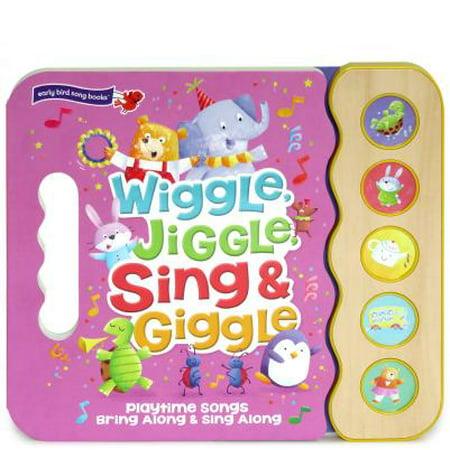 Wiggle Jiggle Sing and Giggle: Song Book Wood Module with Handle (Board (Wiggle Bay)