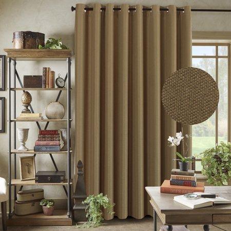 H.VERSAILTEX Primitive Linen Look Room Darkening Thermal Insulated ...