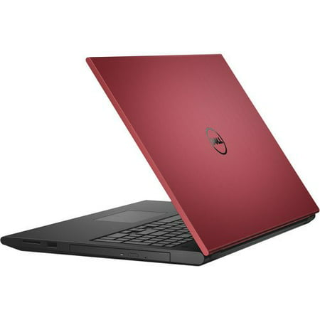 Dell Inspiron 3000 Series 15.6 Non-Touch Notebook (Red), Intel Core i3-4005U, 4GB Memory, 500 GB Hard Drive... by
