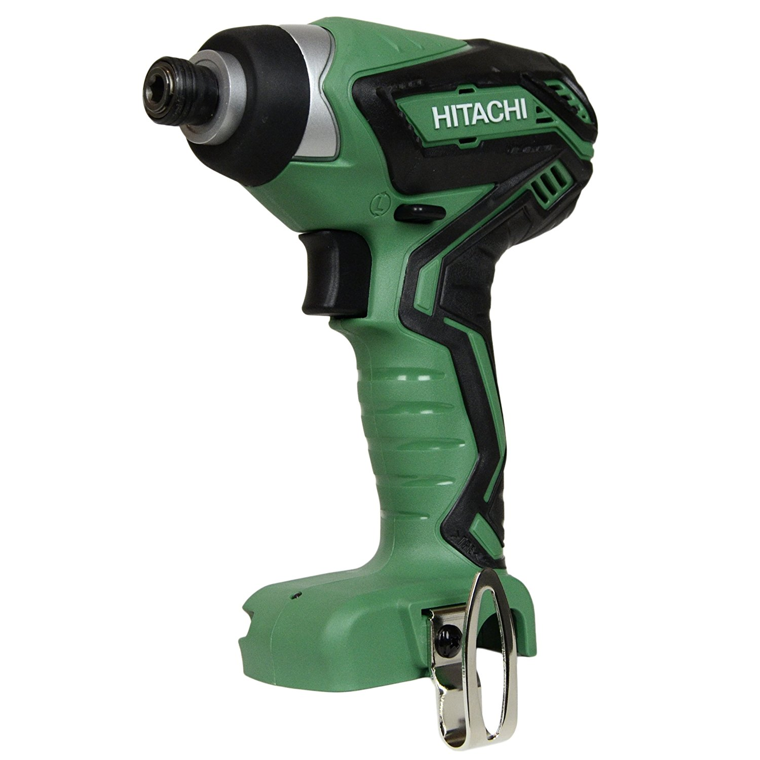 "HITACHI WH10DFL2 TOOL ONLY Factory Reconditioned 1/4"" 12V Peak Li-Ion 12 Volt Cordless Impact Driver"