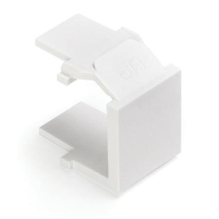 Quickport Blank Inserts (Leviton 41084-W QuickPort Blank Insert White)