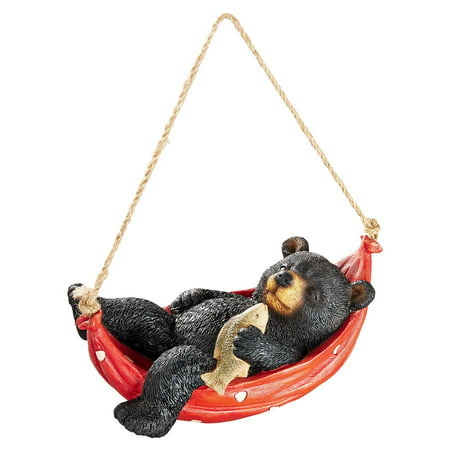 Panda Bear Statue (Design Toscano Summer Snooze Black Bear Statue )