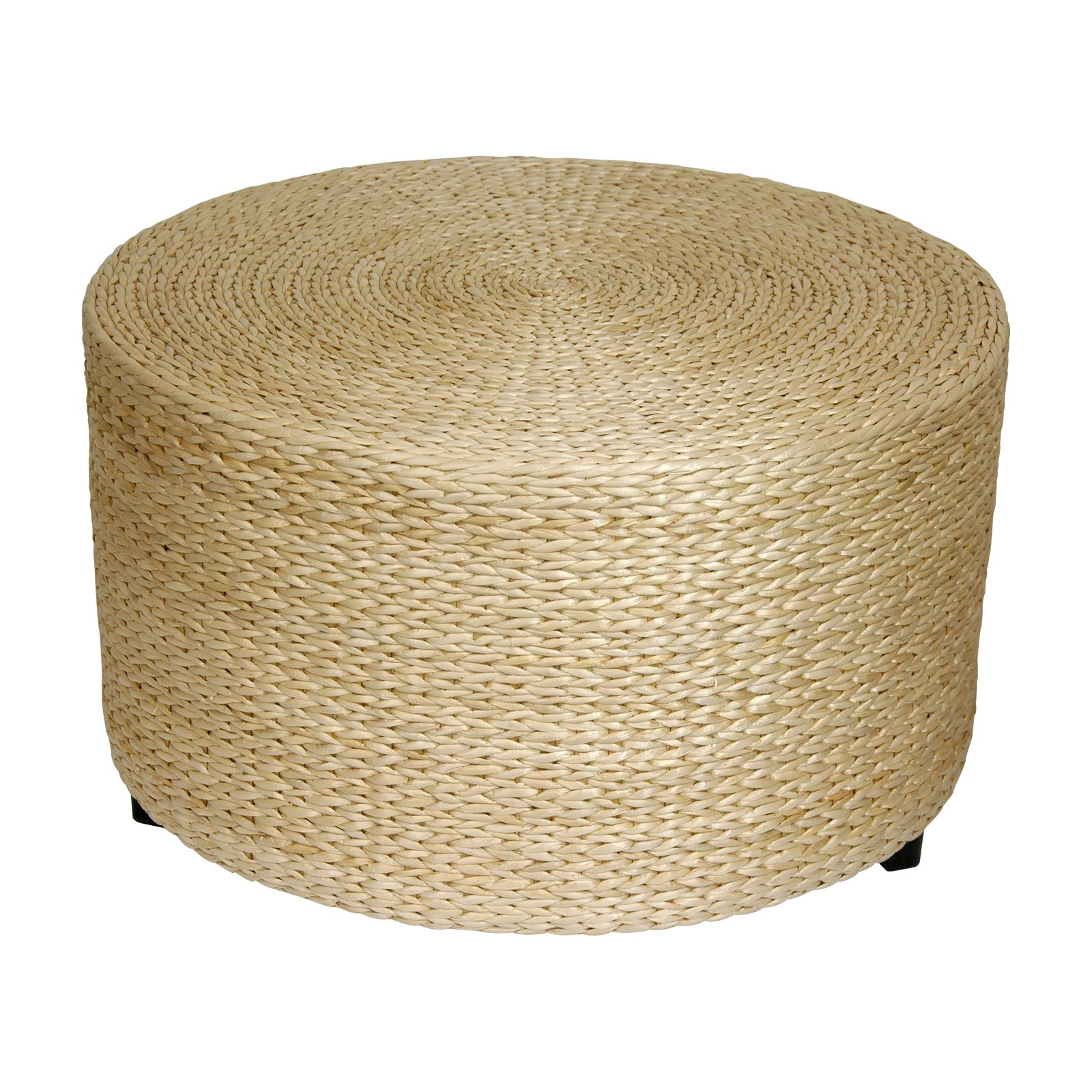 - Oriental Furniture Rush Grass Coffee Table/Ottoman - Walmart.com