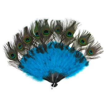 PEACOCK TAIL FAN](Peacock For Halloween)