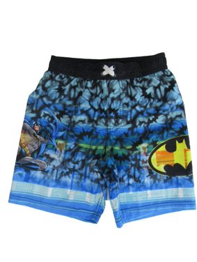 9cd009dcd2 Product Image Dc Comics Little Boys Blue Batman Swim Shorts