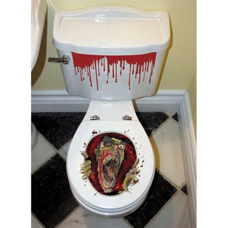 Superb Zombie Toilet Seat Grabber Decoration Lamtechconsult Wood Chair Design Ideas Lamtechconsultcom