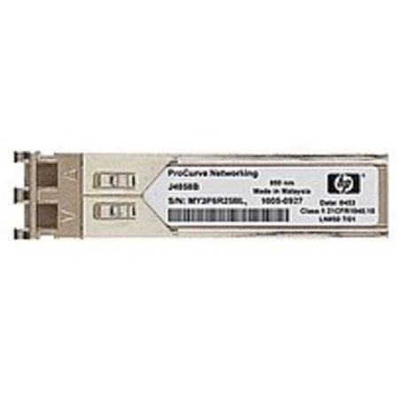 Refurbished HP JD118B X120 1 Gbps Transceiver Module - Small Form Factor - 1 x LC 1000Base-SX