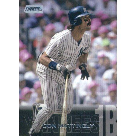 2018 Topps Stadium Club #171 Don Mattingly New York Yankees Baseball Card - *GOTBASEBALLCARDS (03 Topps Stadium Club)