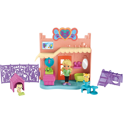 Nickelodeon Dora and Friends Animal Adoption Center Playset