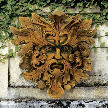 Oak King Greenman Wall Sculpture