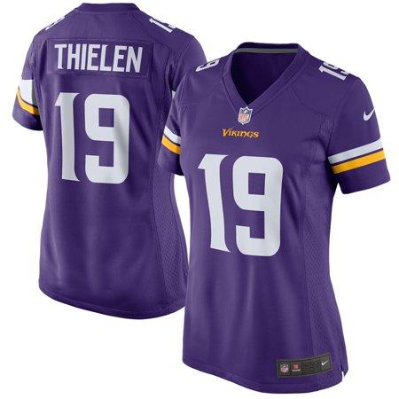 a7e1906a Adam Thielen Minnesota Vikings Nike Women's Game Jersey - Purple -  Walmart.com