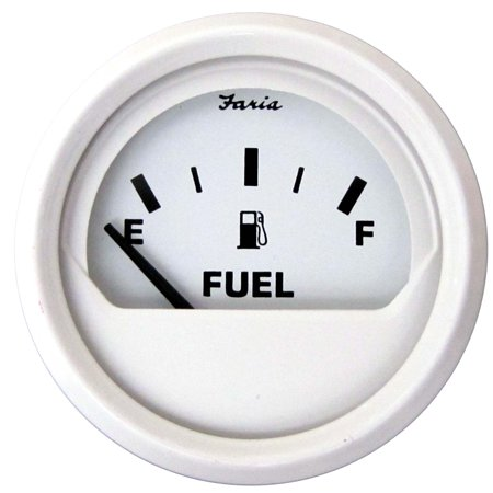 Faria Fuel Gauge (Faria Dress White 2