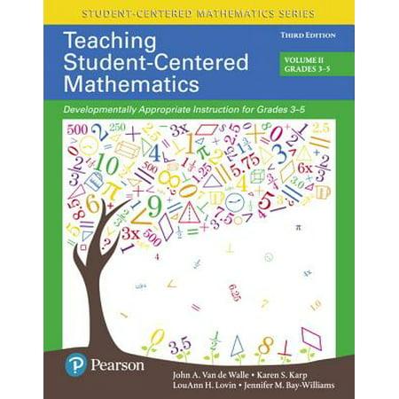 Teaching Student-Centered Mathematics : Developmentally Appropriate Instruction for Grades 3-5 (Volume II), with Enhanced Pearson Etext - Access Card - Halloween Math Centers First Grade