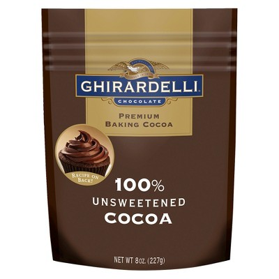 Ghirardelli Unsweetened Cocoa 8 oz by