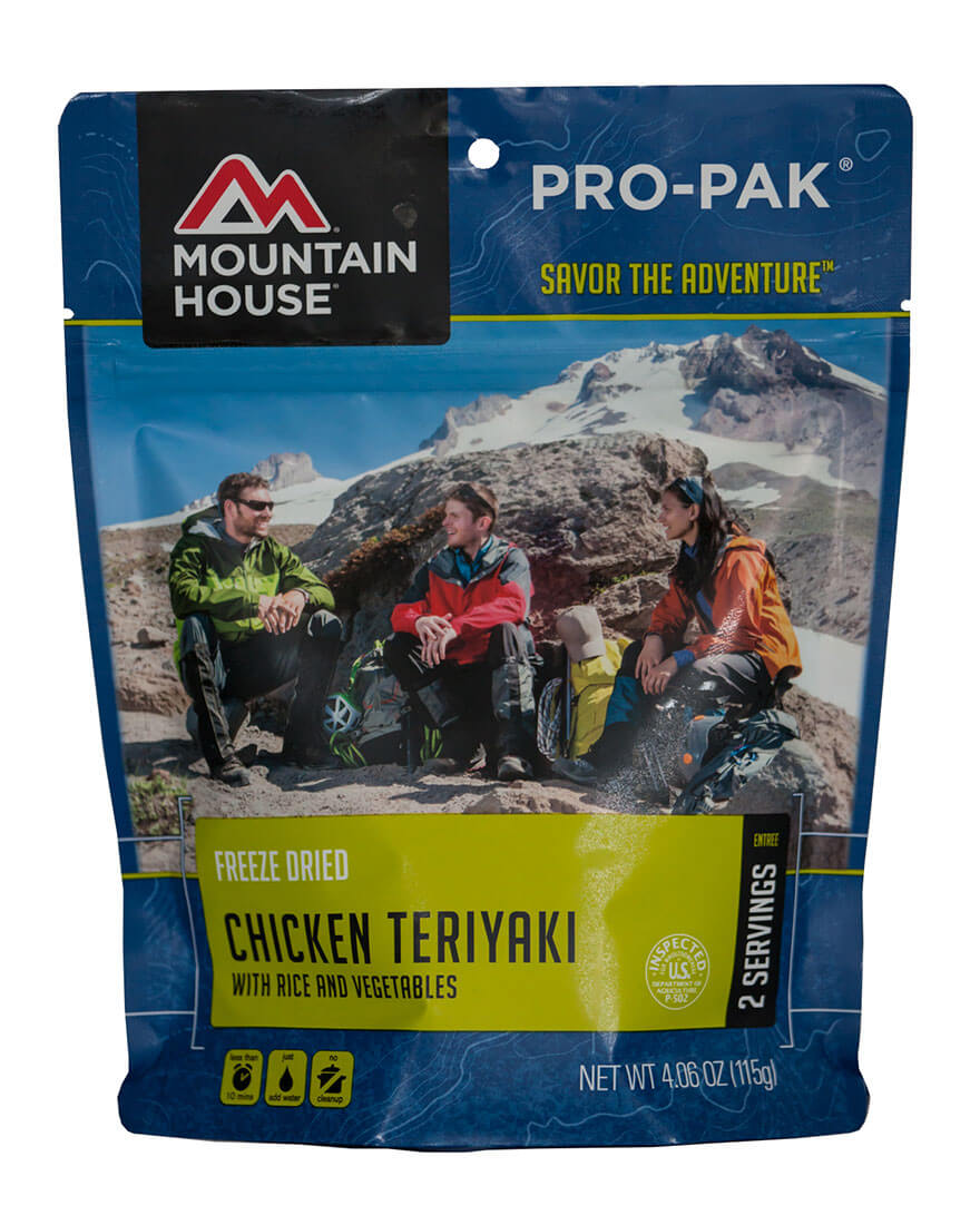 Mountain House (6 Pack) Chicken Teriyaki with Rice Pro-Pak by Mountain House