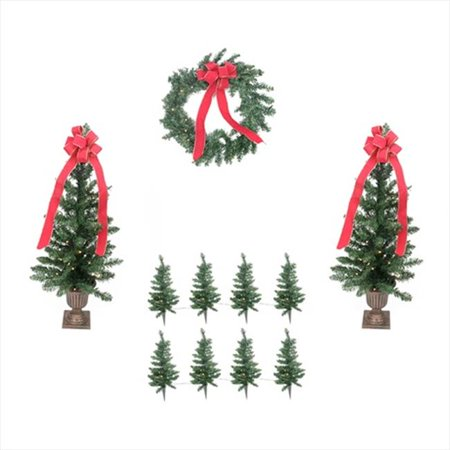 northlight traditional pine artificial outdoor christmas