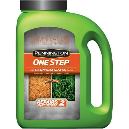 Pennington 1-Step Complete Bermudagrass  Grass Seed, 5 lbs