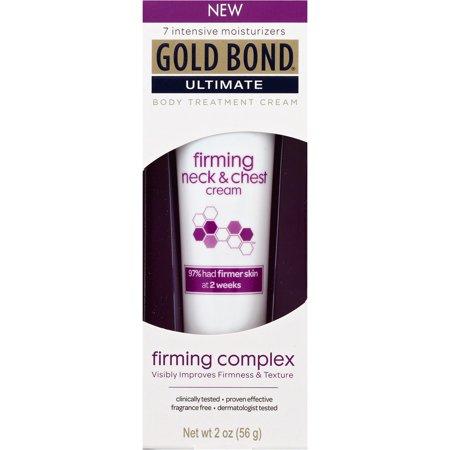 Gold Bond Fermeté ultime cou et poitrine Crème Corps traitement, 2 oz