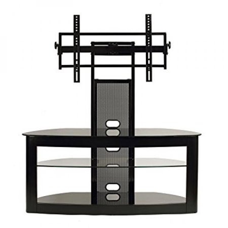 Transdeco Lcd Tv Stand With Universal Mounting System For 35 To 65