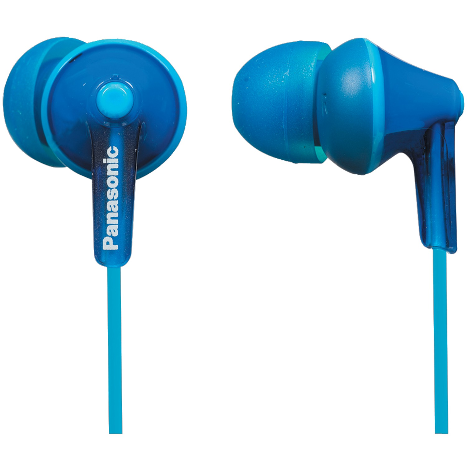 Panasonic RP-HJE125-A HJE125 ErgoFit In-Ear Earbuds (Blue)