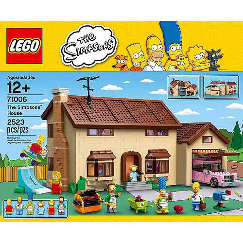 Lego The Simpsons House Play Set by Lego