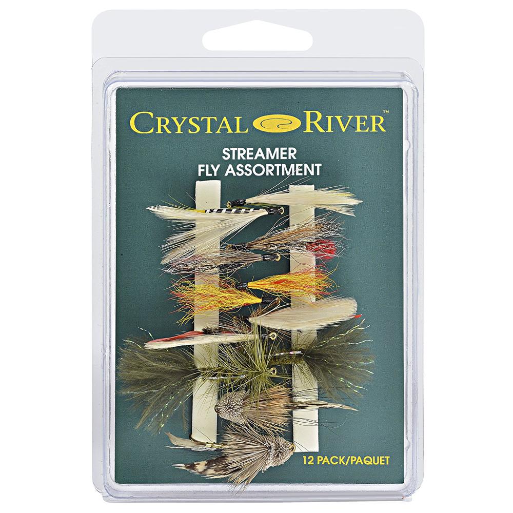 Crystal River Streamer FA-ST Fishing Flies Assortment
