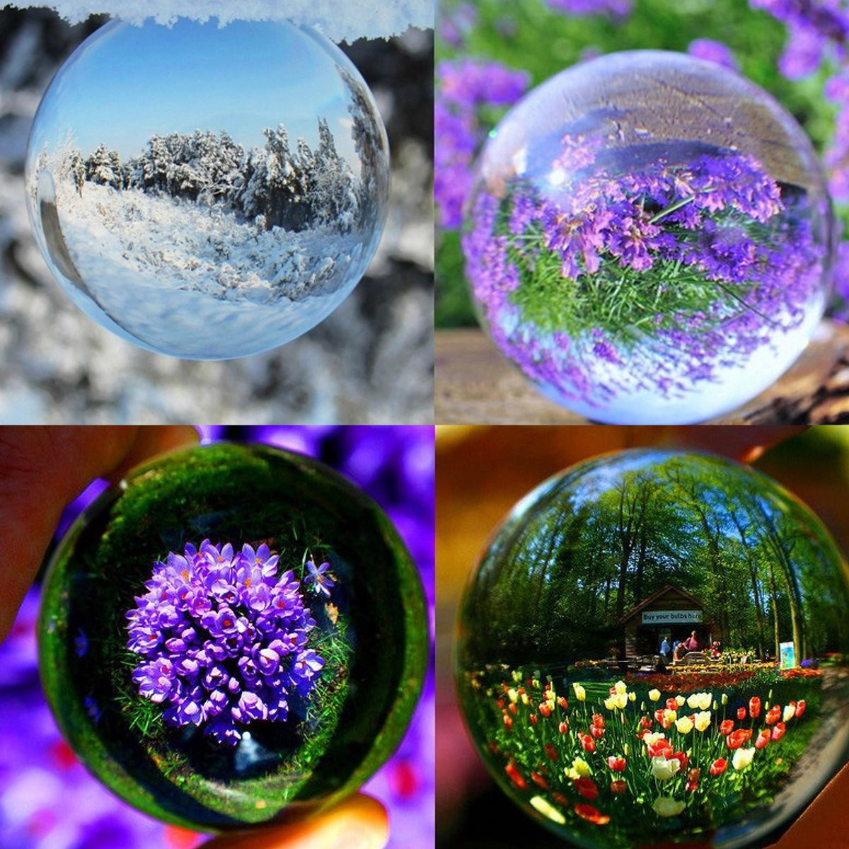 12 Home Decor Gift Ideas From Walmart: K9 Crystal Photography Lens Ball Photo Prop Background