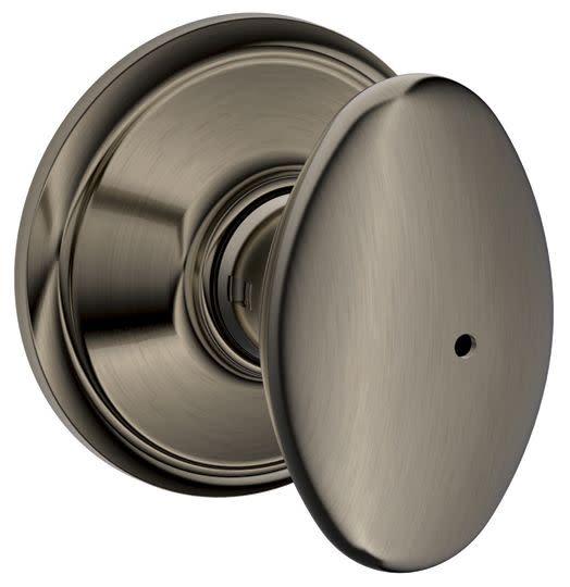 Schlage F40-SIE Siena Privacy Door Knob Set from the F-Series