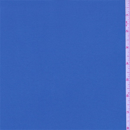 Mineral Blue Polyester Jersey Knit, Fabric By the Yard