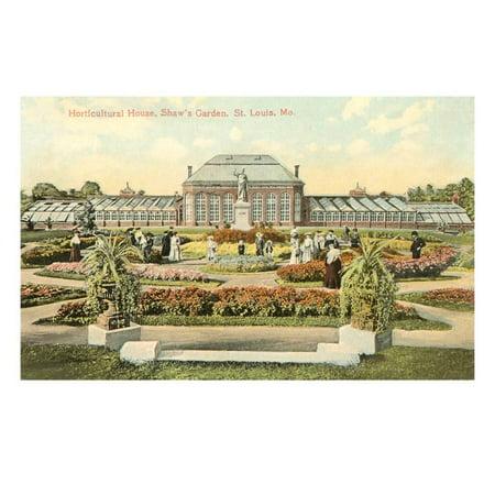 - Shaw's Garden, St. Louis, Missouri Print Wall Art
